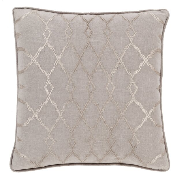 Knipp 100% Linen Throw Pillow Cover by Alcott Hill